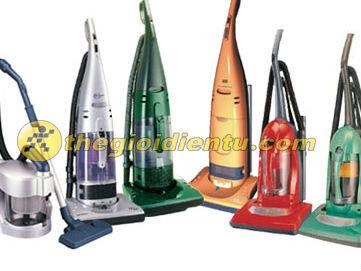 Các loại máy hút bụi phổ biến trên thị trường