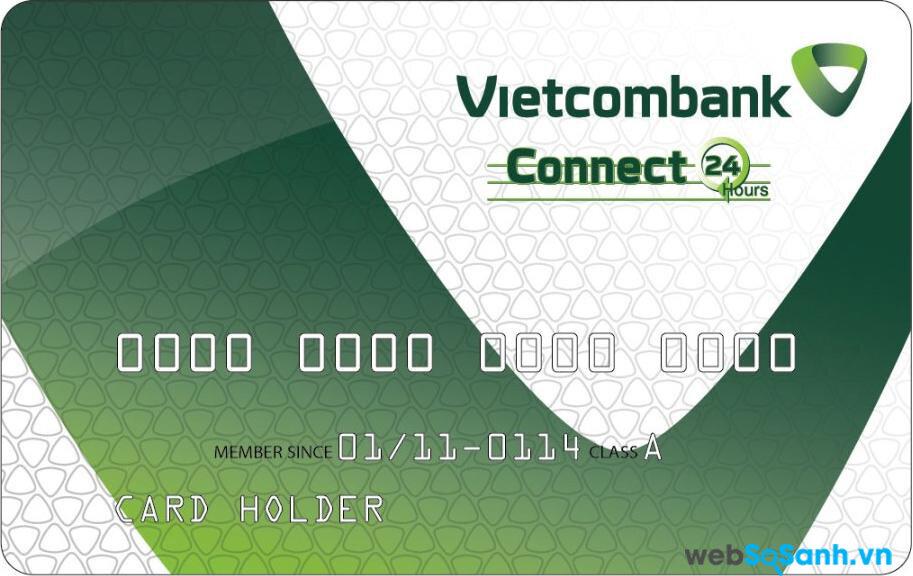 Các loại thẻ ngân hàng do Vietcombank phát hành