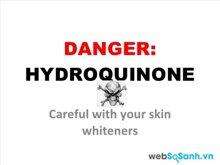 Các sản phẩm làm trắng da chứa Hydroquinone có an toàn ?