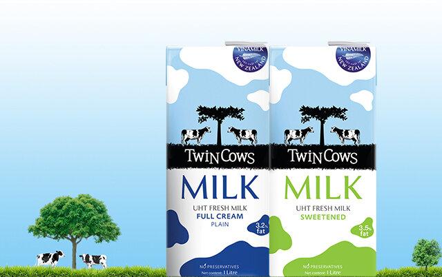 Các sản phẩm sữa tươi tiệt trùng của Vinamilk