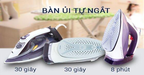 Các tính năng không thể bỏ qua của bàn ủi hơi nước chất lượng cao
