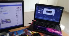 Cách biến laptop hỏng thành màn hình thứ 2 cho laptop, máy tính