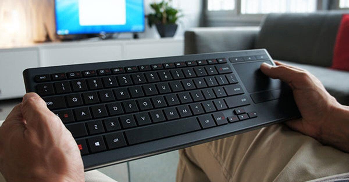 Cách chọn mua bàn phím không dây cho tivi chuẩn nhất