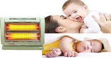Cách chọn mua máy sưởi ấm phòng ngủ cho trẻ sơ sinh