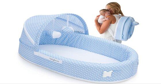 Cách chọn nôi ngủ chung giường bố mẹ cho trẻ