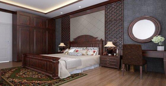 Cách chọn nội thất phòng ngủ gỗ tự nhiên cho căn phòng của bạn