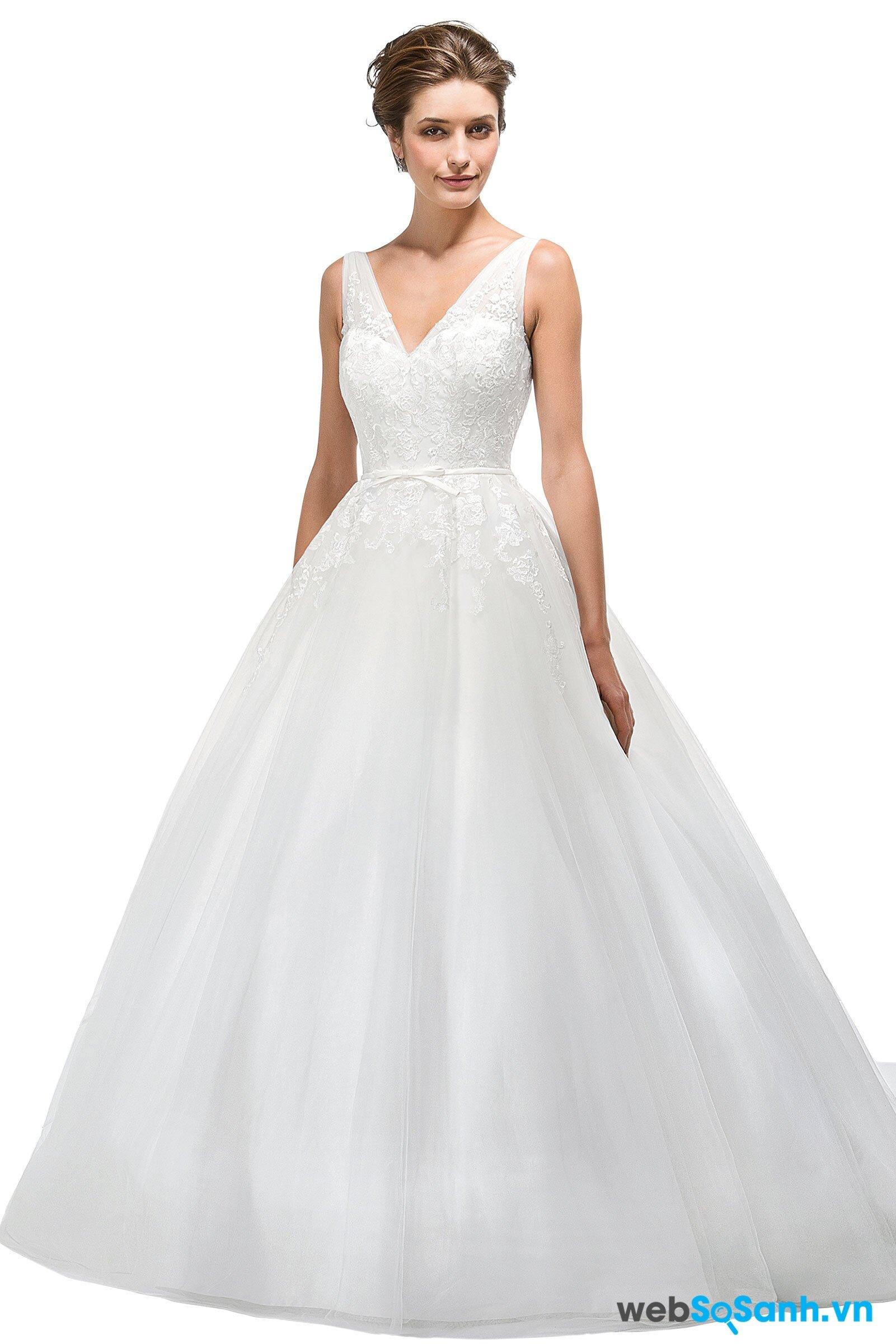 Cách chọn váy cưới phù hợp với từng vóc dáng
