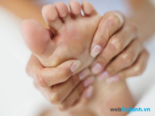 Cách chữa cước tay chân mùa đông