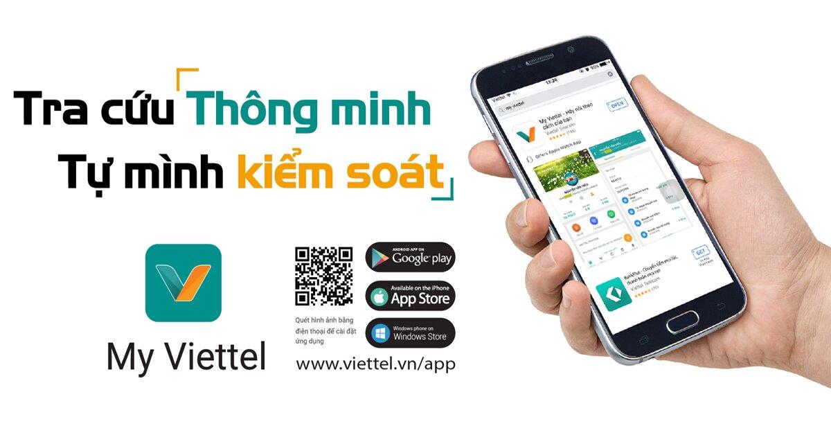 Cách đăng ký thông tin thuê bao Viettel trực tuyến bằng ứng dụng My Viettel