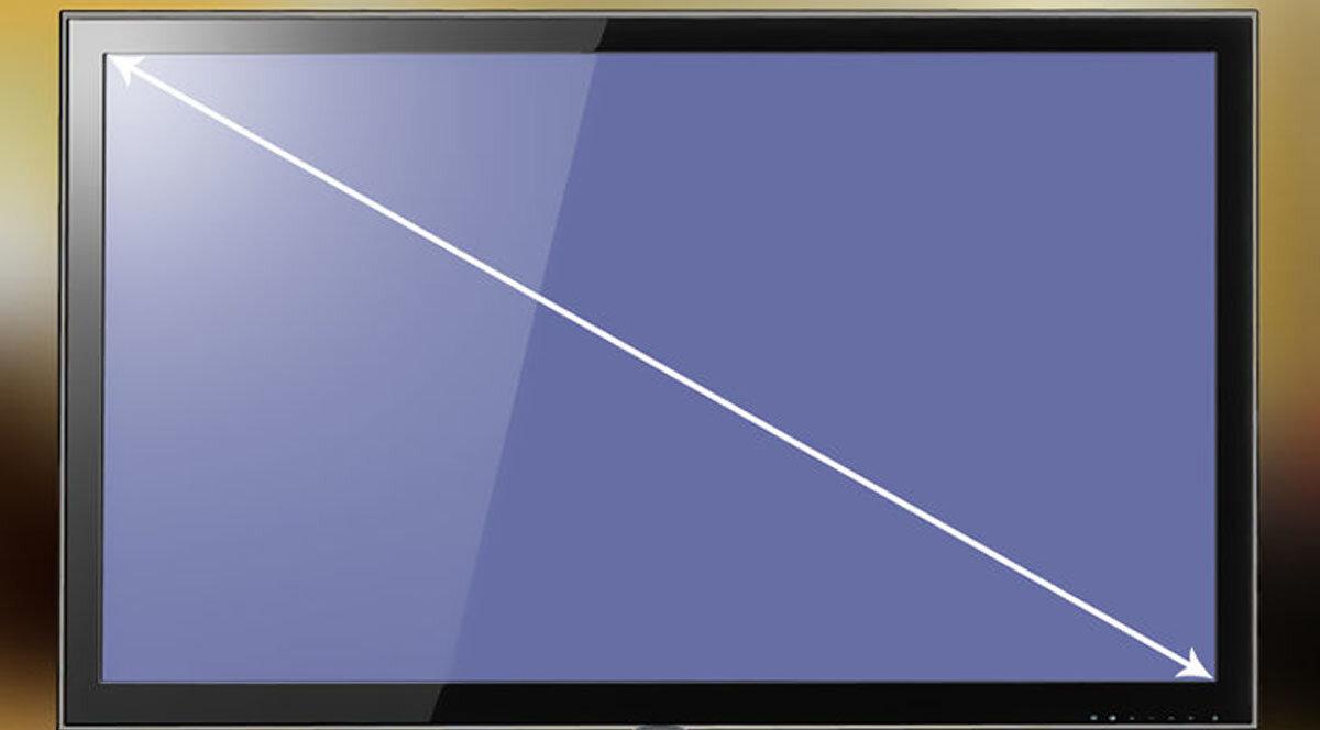 Cách đo kích thước màn hình tivi như thế nào?