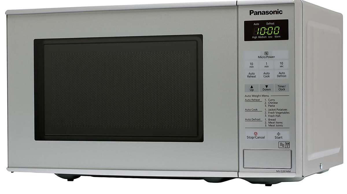 Cách dùng lò vi sóng Panasonic để hâm nóng, rã đông thực phẩm an toàn