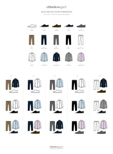 Cách kết hợp quần áo giày đúng chuẩn