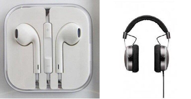 Cách kết hợp tai nghe iPhone với một headphone khác