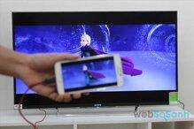 Cách kết nối điện thoại Andoird với smart tivi Samsung