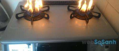 Cách khắc phục lửa bếp gas không cháy đều
