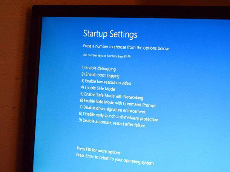 Cách khởi động ở chế độ Safe Mode trên Windows 10