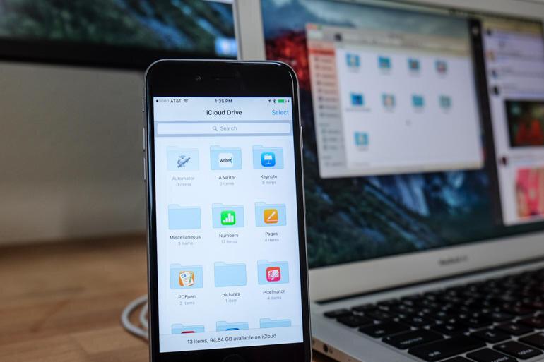 Cách kích hoạt ứng dụng bộ nhớ lưu trữ iCloud Drive trên iOS 9