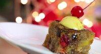 Cách làm bánh Pudding Giáng sinh thập cẩm ngon