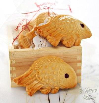 Cách làm bánh trung thu nướng hình cá dễ thương