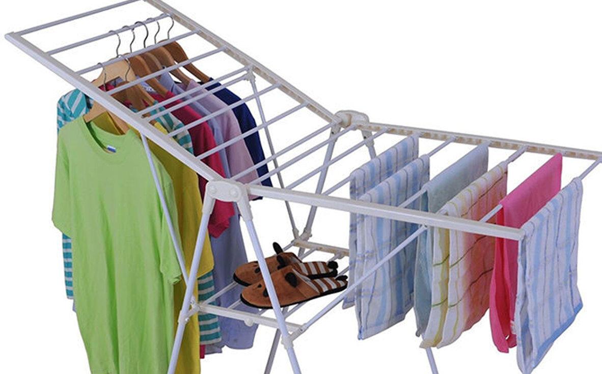 Cách làm khô quần áo CẤP TỐC trong mùa mưa ẩm ướt (bằng điều hòa, máy sấy tóc)