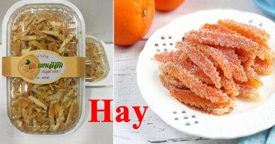 Cách làm mứt vỏ cam thơm ngon hấp dẫn trong ngày Tết Nguyên Đán