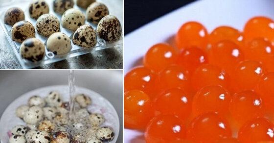 Cách làm trứng cút muối cho nhân bánh trung thu – Công thức mới