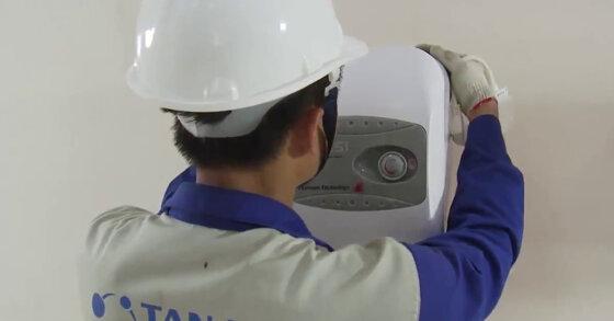 Cách lắp đặt bình tắm nóng lạnh Rossi đúng kỹ thuật