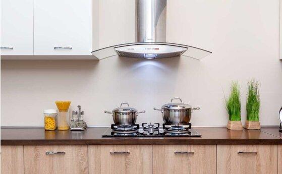 Cách lắp máy hút mùi tại nhà bếp loại âm tủ, ống khói, kính cong hiệu quả