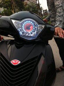 Cách lựa chọn đèn pha xe máy siêu sáng phù hợp