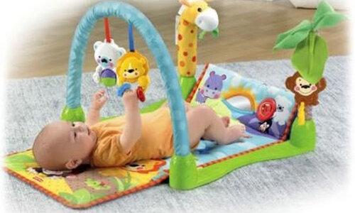 Cách lựa chọn đồ chơi cho trẻ 0 - 3 tháng tuổi