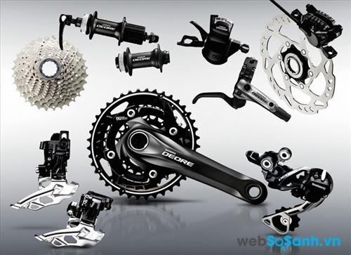 Cách lựa chọn groupset cho xe đạp leo núi (Phần 2)