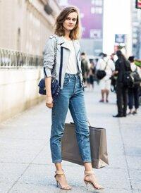 Cách mix quần jeans với T-shirt đẹp trong mọi hoàn cảnh