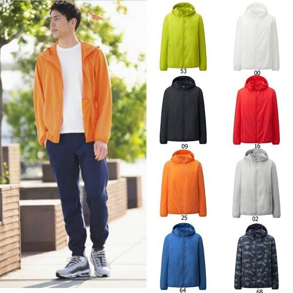 Cách nhận biết áo chống nắng nam Uniqlo xịn 2017 và chọn size phù hợp