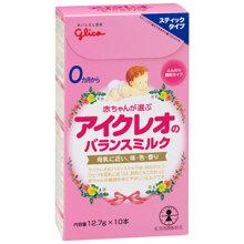 Cách pha sữa bột Glico số 0 và số 9 dạng thanh cho bé