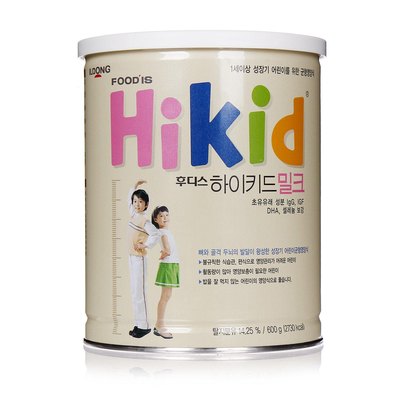 Cách pha sữa bột Hikid Hàn Quốc cho bé