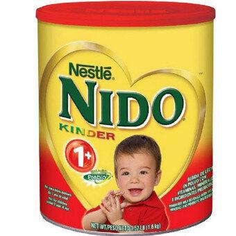 Cách pha sữa bột Nido nắp đỏ – Nido Kinder 1+