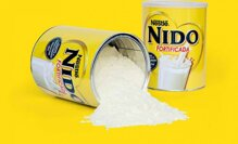 Cách pha sữa bột Nido nắp trắng – sữa dành cho bé chậm tăng cân, còi xương
