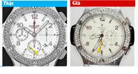 Cách phân biệt chính xác đồng hồ Hublot thật giả – Infographic
