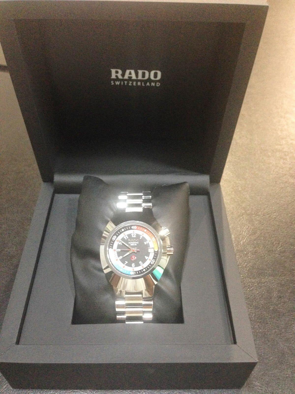 Cách phân biệt đồng hồ Rado thật giả