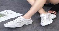 Cách phối đồ với giày thể thao nữ đế cao mang đậm dấu ấn cá nhân