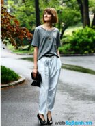 Cách phối đồ với quần Baggy để bạn trở nên xinh đẹp hơn