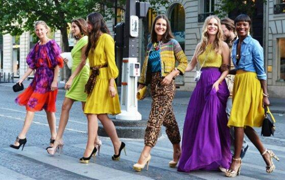 Cách phối màu sắc giúp bạn tự tin hơn khi lựa chọn trang phục