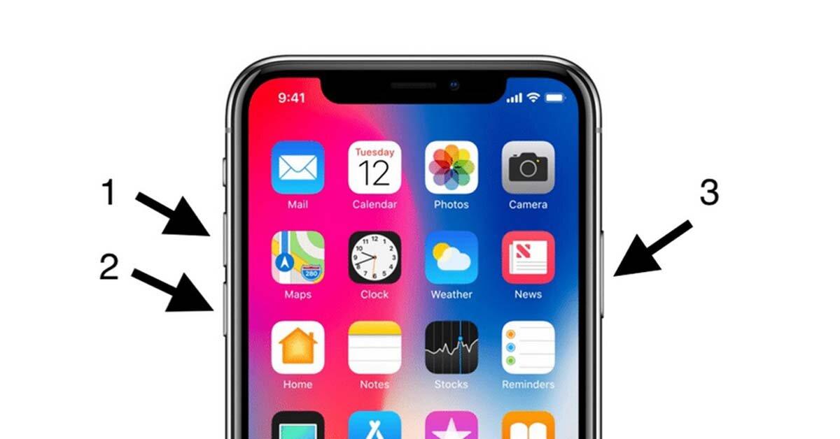 Cách reset iPhone X bằng tổ hợp phím cứng đơn giản nhất