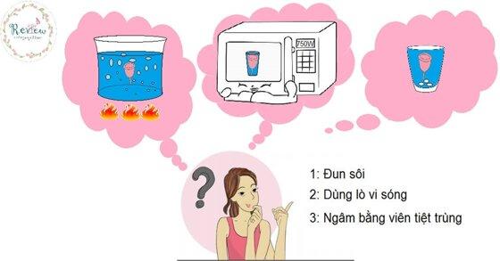 Cách sử dụng cốc nguyệt san Sibell