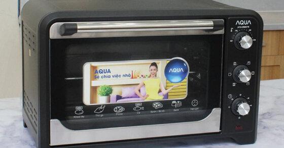 Cách sử dụng lò nướng Aqua nấu thịt, rau củ như đầu bếp