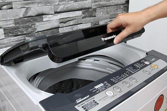 Cách sử dụng máy giặt Panasonic cửa trên trong 5 bước đơn giản nhất