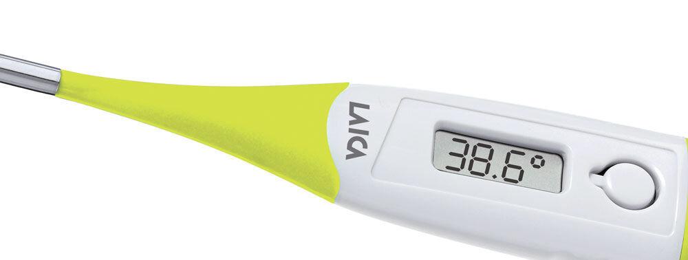 Cách sử dụng nhiệt kế điện tử hồng ngoại Laica đo thân nhiệt cho bé