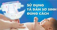 Cách sử dụng tã dán Bobby cho trẻ sơ sinh chuẩn khỏi chỉnh