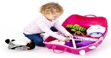 Cách sử dụng vali Trunki cho bé