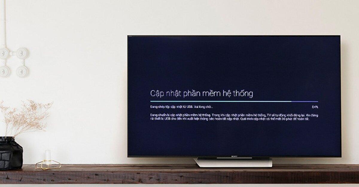 Cách sửa lỗi tivi Sony không có trình duyệt web